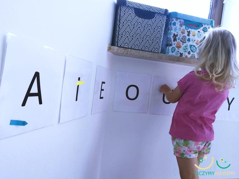 Jak nauczyc liter