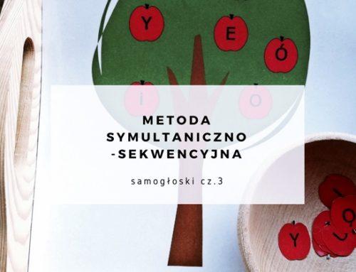 Samogłoski – powtarzanie i rozumienie. Metoda symultaniczno-sekwencyjna. Część 3.