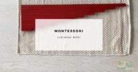 czerwone belki montessori