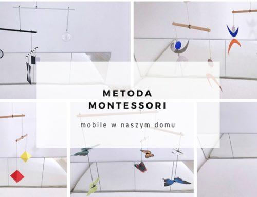 Metoda Montessori – mobile w naszym domu – alternatywa dla karuzelki. Wywiad.