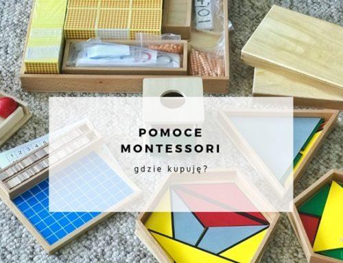 Pomoce Montessori – gdzie kupuję?