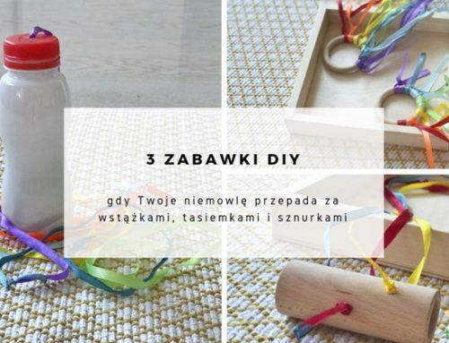3 zabawki DIY – wstążki, tasiemki, sznurki + 3 VIDEO