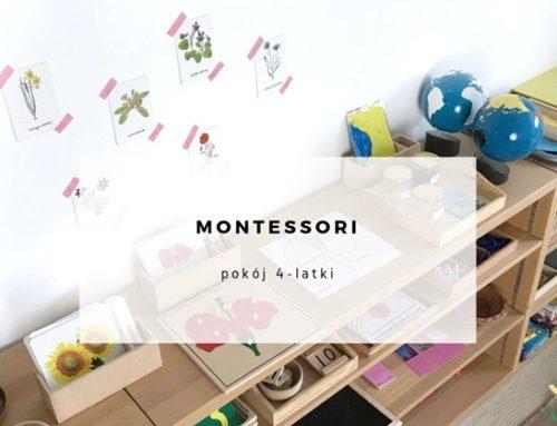 Pokój 4-latki – inspirowany pedagogiką Montessori