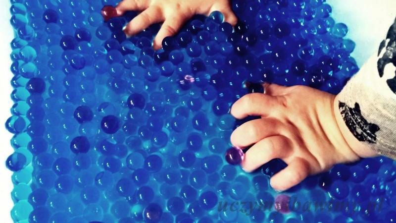 Kulki hydrożelowe - dotyk