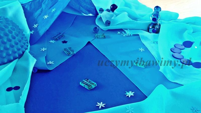 Kraina lodu - zabawa z dwulatkiem