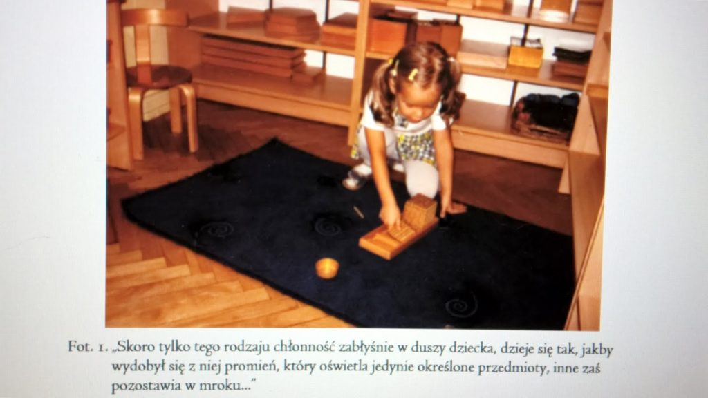 Zrozumieć Montessori - faza wrażliwa