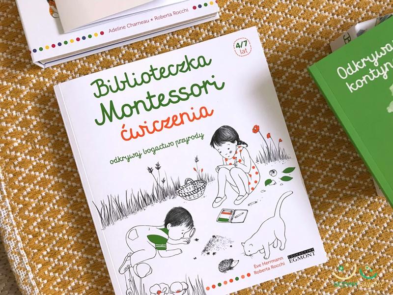 biblioteczka montessori ćwiczenia