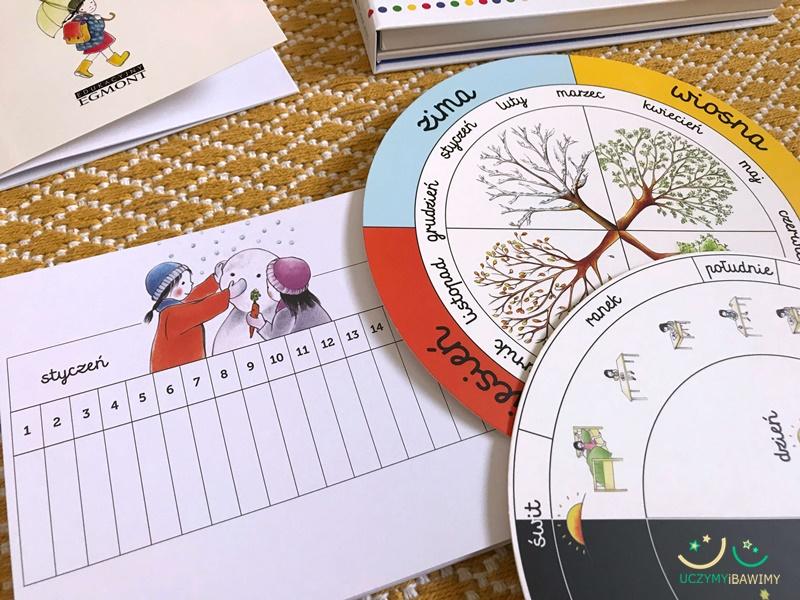 montessori kalendarz