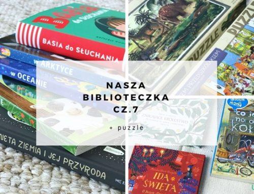 Nasza biblioteczka cz.7 + puzzle