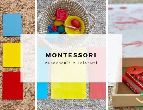 Montessori – zapoznanie z kolorami