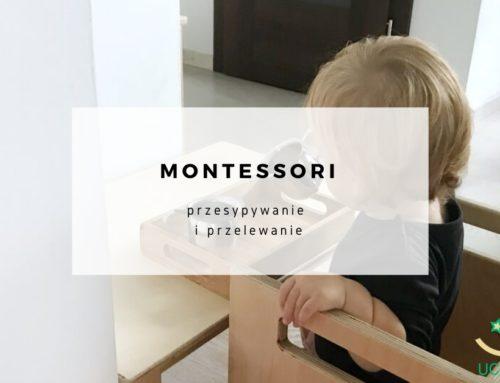 Montessori – przesypywanie i przelewanie
