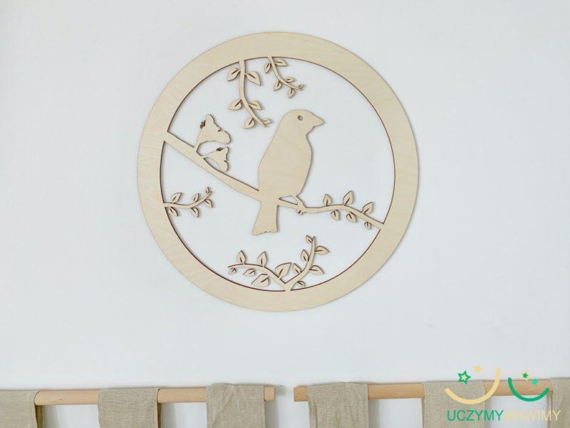 dekoracje-montessori-ptak-ze-sklejki