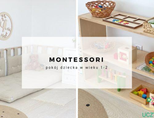 Montessori – pokój dziecka w wieku 1-2