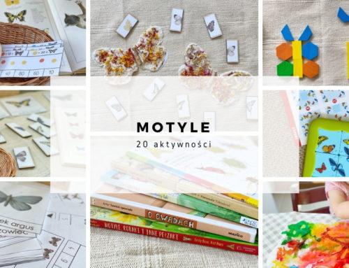 Motyle – 20 aktywności